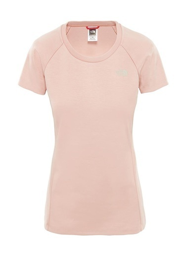 The North Face Vısta Tek S/S Tee Kadınt-Shirt Pembe Pembe